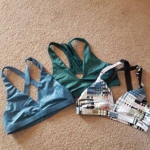 3 VS shine sport bras